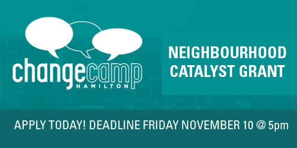 CATALYST GRANT CHANGE CAMP
